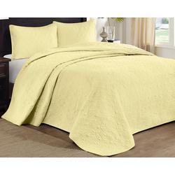 Quebec 3 pc Bedspread Set