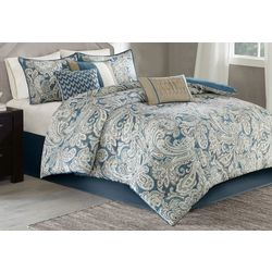 Madison Park Gabby Blue 7-pc. Comforter Set