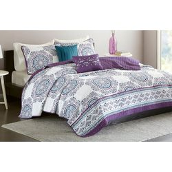 Intelligent Design Anika Coverlet Set