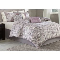 Madison Park Gabby Purple 7-pc. Comforter Set