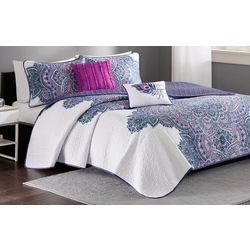Intelligent Design Mila Coverlet Set