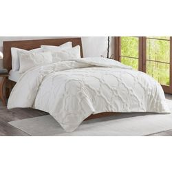 Madison Park Pacey 3-pc. Geometric Duvet Set