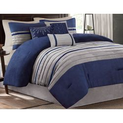 Madison Park Palmer Blue 7-pc. Comforter Set