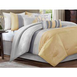 Madison Park Amherst Yellow 7-pc. Comforter Set