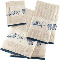 Madison Park Bayside 6-pc. Embroidered Towel Set