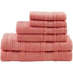 Madison Park Adrien 6-pc. Super Soft Cotton Towel Set