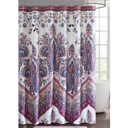 Intelligent Design Tulay Purple Shower Curtain