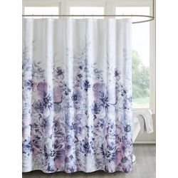 Madison Park Enza Floral Shower Curtain