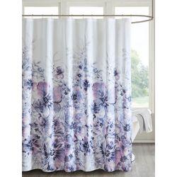 Madison Park Enza Floral Shower Curtain