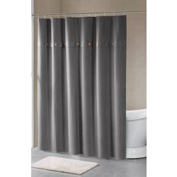 Madison Park Finley Waffle Weave Shower Curtain