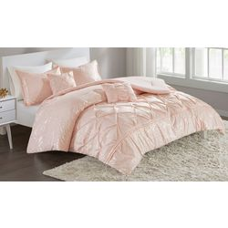 Intelligent Design Adele Metallic Comforter Set