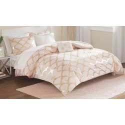 Intelligent Design Lorna Blush Comforter & Sheet Set