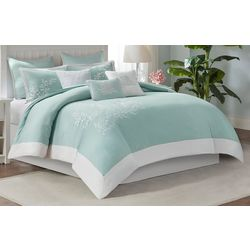 Coastline Aqua 5-pc. Duvet Cover Set
