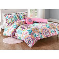Camille Floral Comforter Set