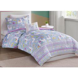 Mi Zone Kids Andes Printed Llama Comforter Set