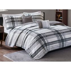 Intelligent Design Rudy Plaid Coverlet Set