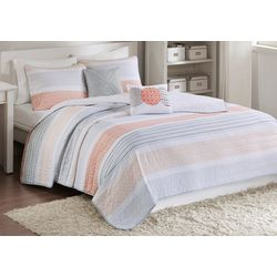 Intelligent Design Wilson Reversible Coverlet Set