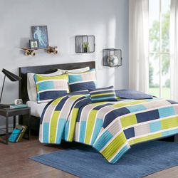 Mi Zone Bradley Coverlet Set
