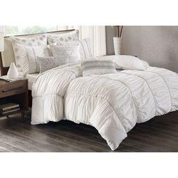 Ink & Ivy Reese White 3-pc. Comforter Set
