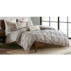 Ink & Ivy Masie Grey 3-pc. Comforter Set