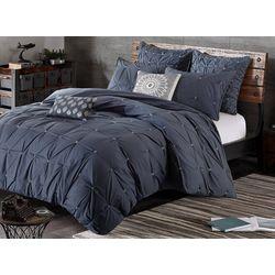 Ink & Ivy Masie Navy 3-pc. Comforter Set