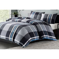 Ink & Ivy Nathan Duvet Cover Set