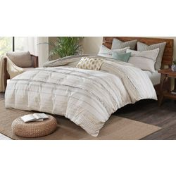 Ink & Ivy Nea Cotton Printed Duvet Cover