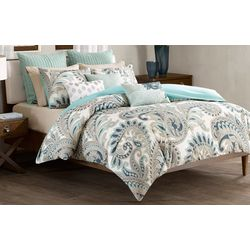 Ink & Ivy Mira Blue 3-pc. Comforter Set