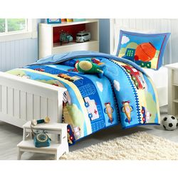 Mi Zone Kids Totally Transit Comforter Set