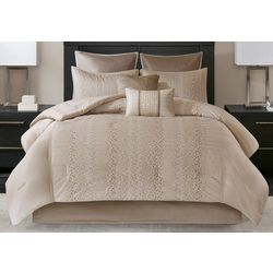 Madison Park Camelia 8-pc. Embroidered Comforter Set