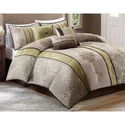 Madison Park Donovan 7-pc. Jacquard Comforter Set