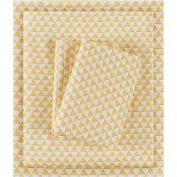 Intelligent Design Microfiber Triangle Sheet Set