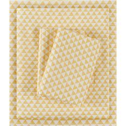 Intelligent Design Microfiber Triangle Sheet Set