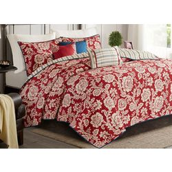 Madison Park Lucy 6-pc. Coverlet Set