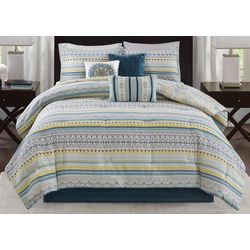 Madison Park Mercia 7-pc. Reversible Comforter Set