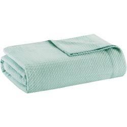 Madison Park Solid Egyptian Cotton Blanket