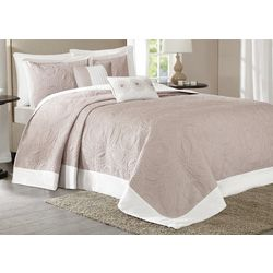 Madison Park Ashbury 5-pc. Reversible Bedspread Set