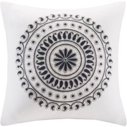 Ink & Ivy Fleur Embroidered Decorative Pillow
