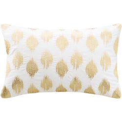 Ink & Ivy Nadia Dot Gold Oblong Decorative Pillow
