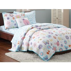 Mi Zone Kids Fluttering Farrah Coverlet Set