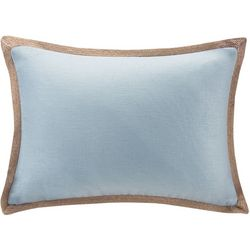 Madison Park Linen Oblong Decorative Pillow