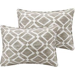 Madison Park Delray Diamond 2-pc. Pillow Set