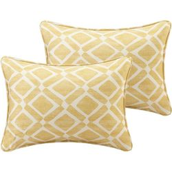 Madison Park Delray Diamond 2-pc. Pillow Set