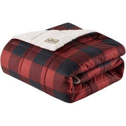 Woolrich Linden Oversized Softspun Down Alternative Throw