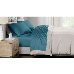 Sleep Philosophy 300 Thread Count Liquid Cotton Sheet Set