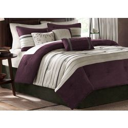 Madison Park Palmer Plum 7-pc. Comforter Set