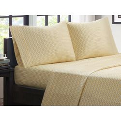 Intelligent Design Chevron Microfiber Sheet Set