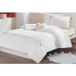 Mi Zone Kids Tessa Tassel Comforter Set