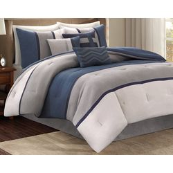 Madison Park Palisades Blue 7-pc. Comforter Set