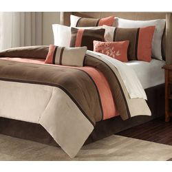Madison Park Palisades Coral 7-pc. Comforter Set